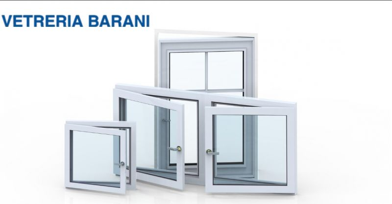 Vetreria Barani offerta produzione serramenti alluminio - occasione serramenti alluminio
