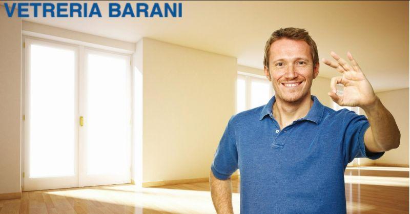 Vetreria Barani offerta assemblaggio serramenti alluminio - occasione montaggio serramenti