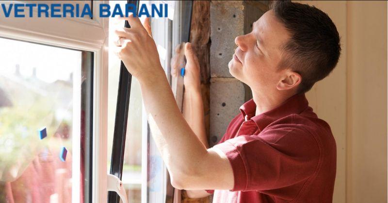 Vetreria Barani offerta manutenzione serramenti in alluminio - occasione serramenti alluminio