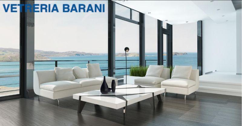 Vetreria Barani - offerta progettazione serramenti alluminio - occasione serramenti alluminio