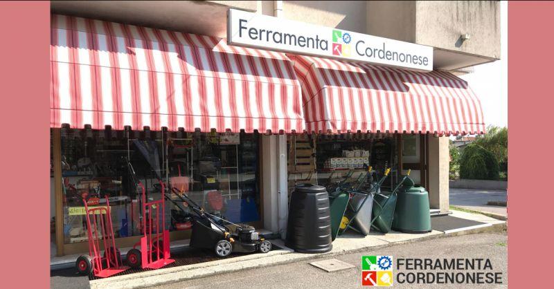 FERRAMENTA CORDENONESE - Offerta vendita articoli di ferramenta Pordenone