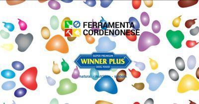 ferramenta cordenonese offerta vendita mangime winner plus pordenone