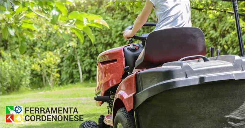 Offerta noleggio macchine da giardino Pordenone - occasione servizio di duplicazione chiavi