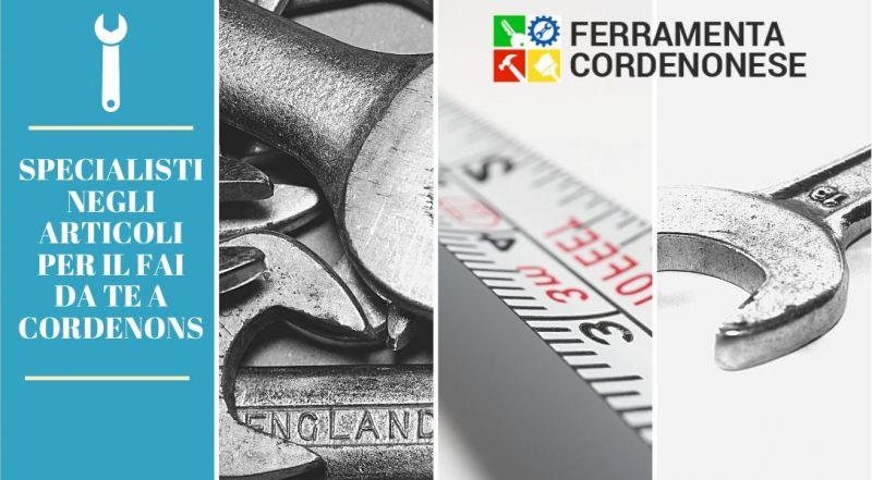 Vendita articoli per il fai da te a Pordenone - Occasione articoli per la ferramenta a Pordenone