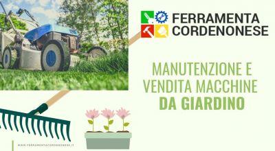 vendita manutenzione e vendita macchine da giardino a pordenone occasione attrezzature per i giardini a pordenone