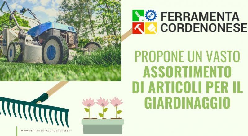Vendita articoli per il giardinaggio a Pordenone - Occasione attrezzature per i giardini a Pordenone