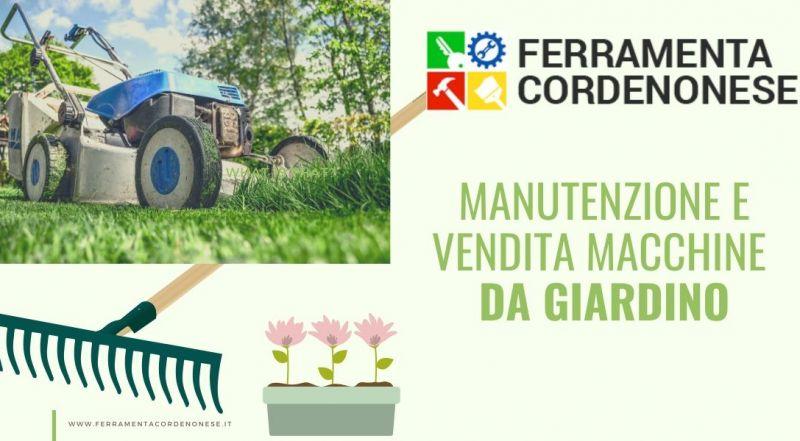 Vendita Manutenzione e vendita macchine da giardino a Pordenone - Occasione attrezzature per i giardini a Pordenone