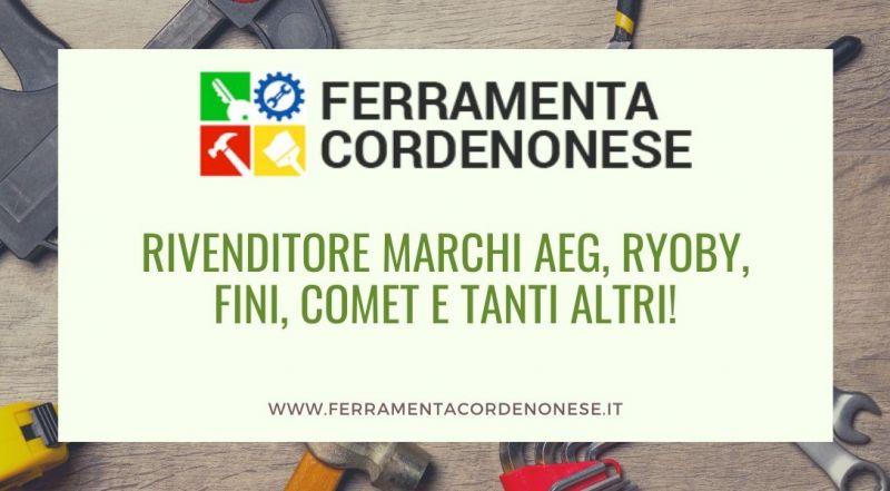 Vendita ricambi per idraulici Pordenone - Occasione rivenditore autorizzato Aeg, Ryoby, Fini, Comet a Pordenone