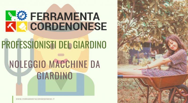 Vendita noleggio attrezzature per il giardinaggio a Pordenone - Occasione noleggio di attrezzi e macchine da giardinaggio e per la cura del verde a Pordenone