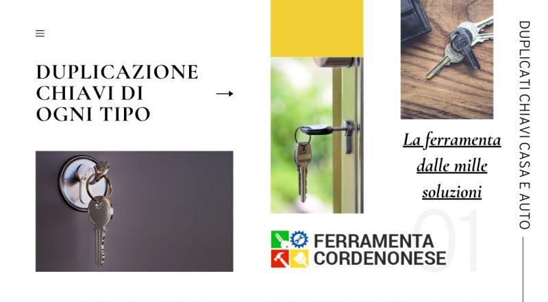 Occasione duplicazione chiavi per auto e casa a Pordenone – Offerta servizio di cambio serratura di ogni tipo a Pordenone
