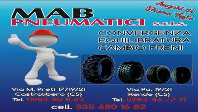 offerta pneumatici usati cambio freni cosenza promozione convergenza equilibratura rende