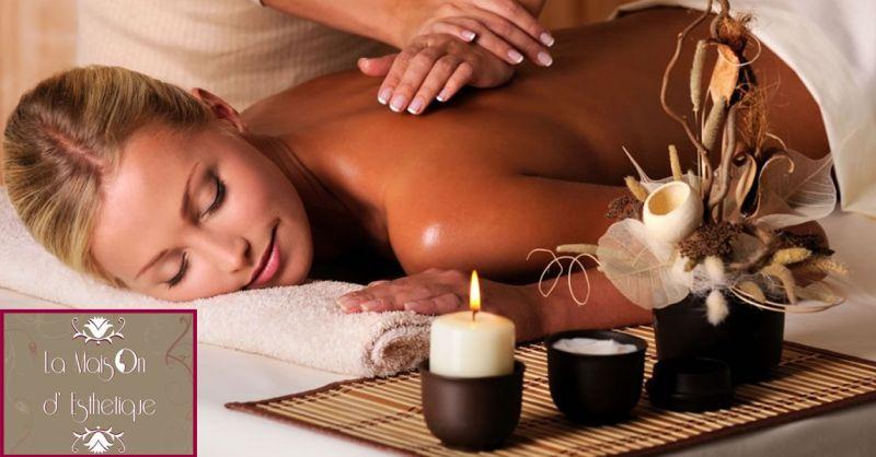 MAISON D'ESTHETIQUE offerta Centro Estetico Olistico Roma - occasione centro massaggi olistici