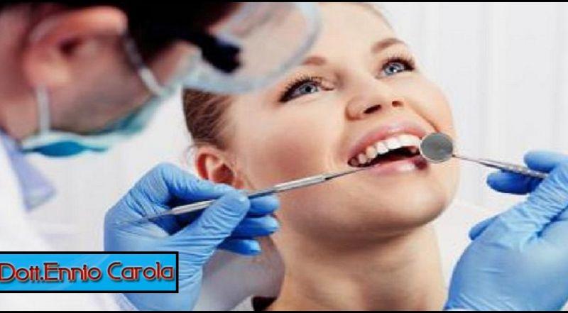 DOTT. ENNIO CAROLA offerta servizio odontoiatra implantologia - occasione igiene dentale Roma