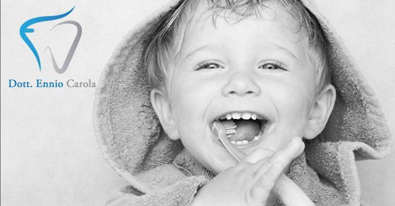 Offerta dentista convenzionato Talenti Roma - Occasione ortodonzia intercettiva EF Line Roma