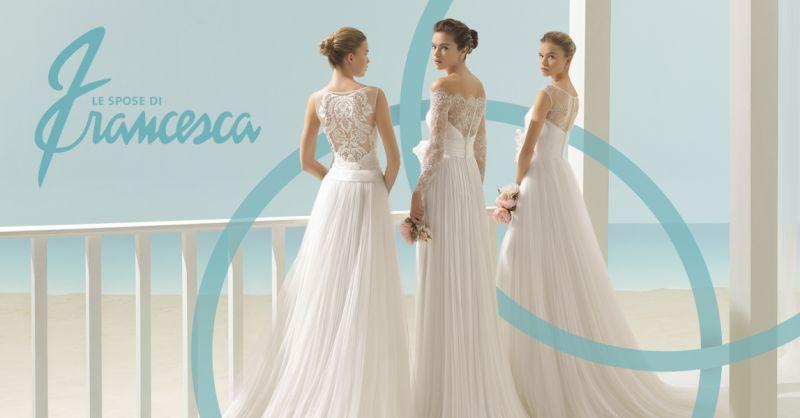 FRANCESCA offerta Confezione abiti sposa civitanova - occasione abiti cerimonia confezionati