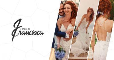 francesca offerta vendita abiti da sposa civitanova marche occasione atelier spose macerata
