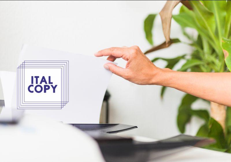 ITALCOPY offerta assistenza stampanti aziende - occasione assistenza fotocopiatrice ufficio
