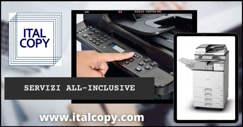 offerta fornitura fornitura macchine stampanti e scanner per ufficio - ITALCOPY SAS