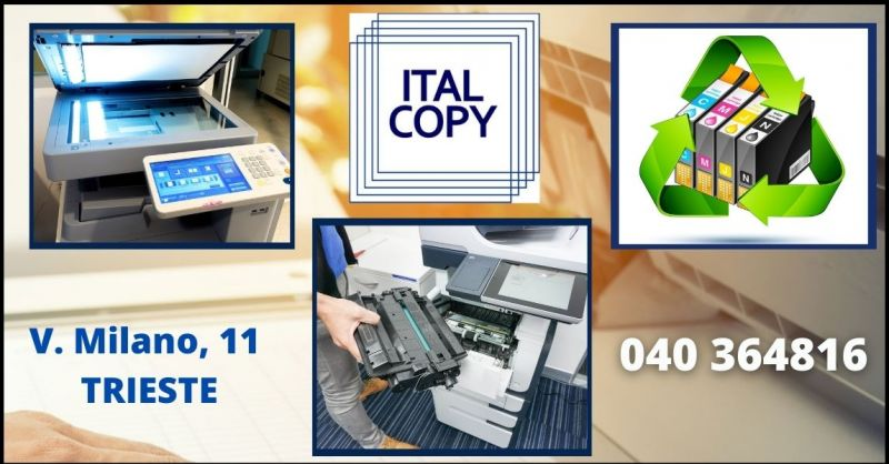 promozione noleggio e assistenza tecnica per copiatrici e stampanti - ITACOPY