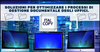 promozione servizi soluzione gestione documentale uffici italcopy sas