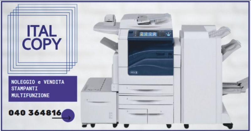 occasione noleggio e vendita stampanti multifunzione Gorizia - ITALCOPY SAS