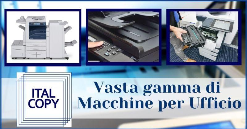 promozione macchine per ufficio e sistemi integrati per l'automazione Gorizia - ITALCOPY SAS