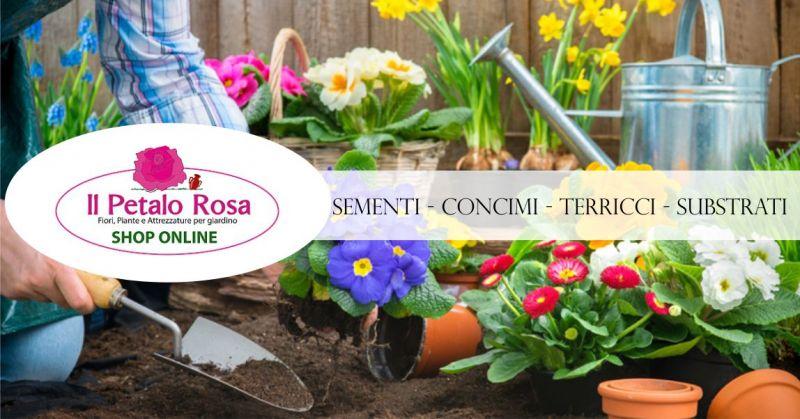 PETALO ROSA BUDONI vendita online - offerta sementi concimi terricci substrati cura piante