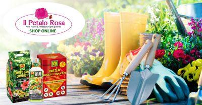 il petalo rosa budoni vende online offerta prodotti e attrezzature giardinaggio e agricoltura