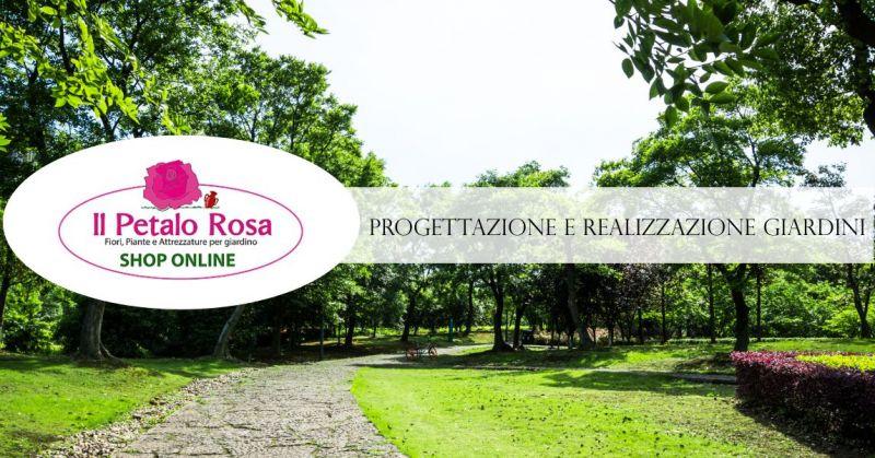 PETALO ROSA BUDONI - offerta progettazione realizzazione giardini pubblici privati