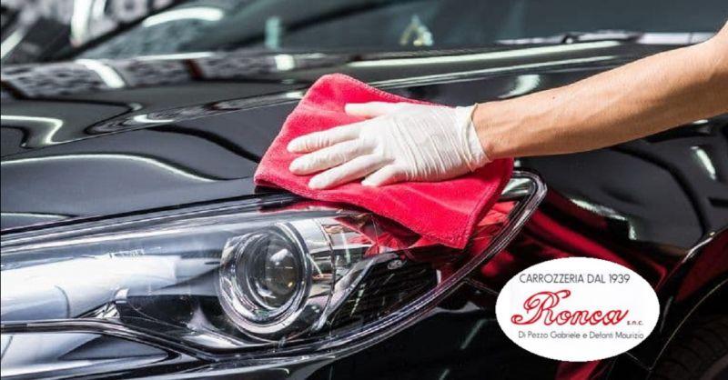 CARROZZERIA RONCA offerta riparazioni auto a Verona - occasione lucidatura automobili a Verona