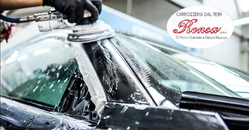 CARROZZERIA RONCA offerta verniciatura auto - occasione lucidatura carrozzeria auto a Verona