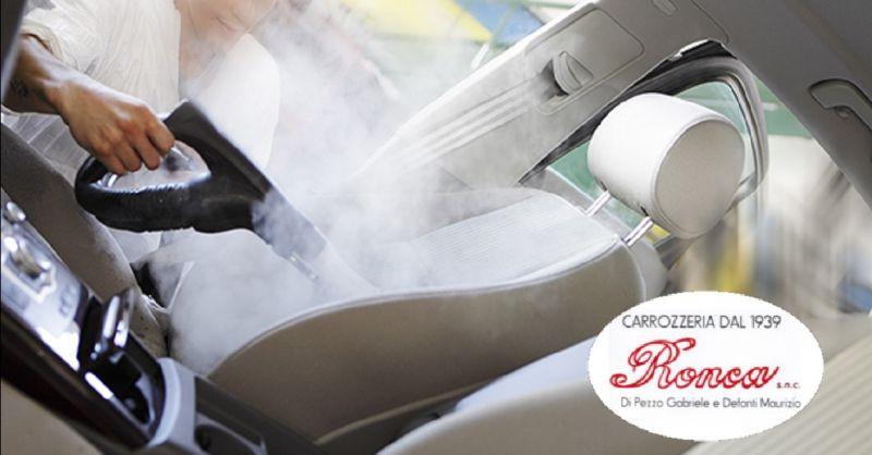 CARROZZERIA RONCA offerta servizio lavaggio auto - occasione sanificazione interni auto Verona
