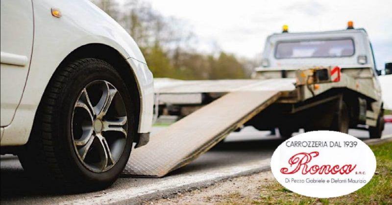 CARROZZERIA RONCA offerta soccorso stradale a Verona - occasione auto sostitutiva a Verona