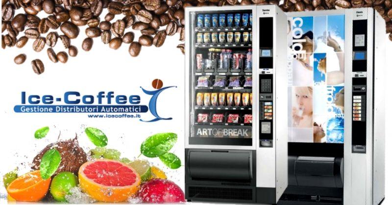Offerta distributori di prodotti freschi - occasione fornitura macchine caffè per ufficio Verona