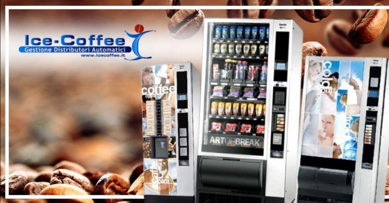 ICE COFFEE - Offerta installazione gestione distributori automatici caffè bibite provincia Verona