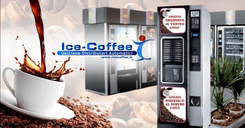 ICE COFFEE - Offerta fornitore distributori automatici caffè bevande snack per aziende provincia di Verona