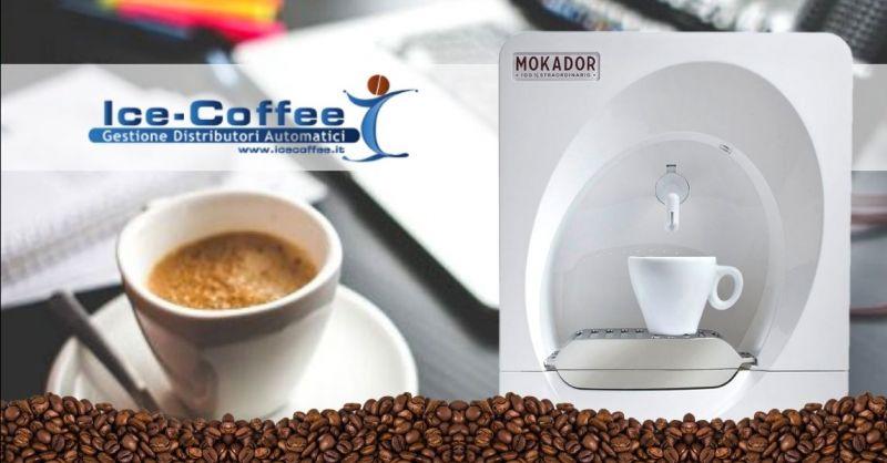 ICE COFFEE - Offerta fornitura macchine da caffè di piccole dimensioni per ufficio provincia Verona