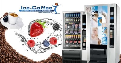 ice coffee offerta vendita distributori automatici di alimenti bevande freschi provincia verona