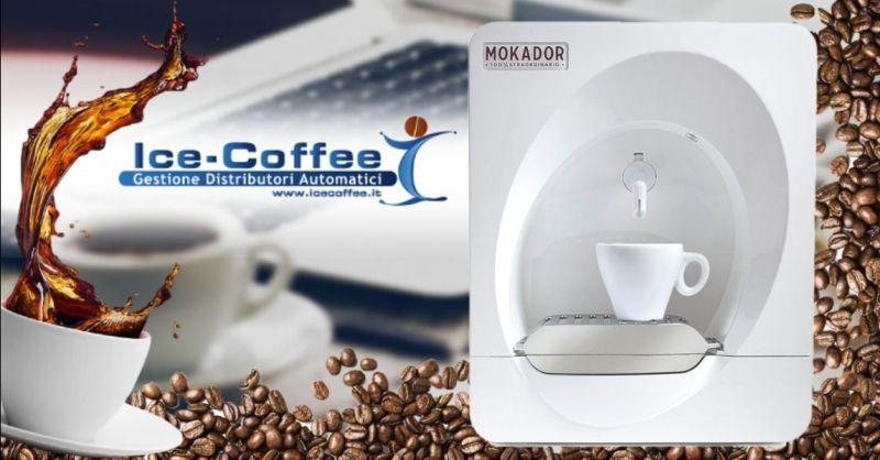 ICE COFFEE - Offerta vendita distributore automatico caffè di piccole dimensioni Verona
