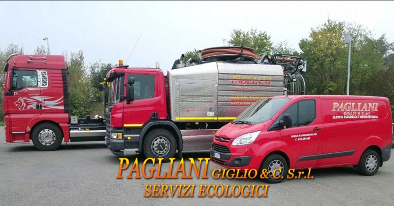PAGLIANI GIGLIO & C. srl - Offerta servizio di spurgo di fognature civile e industriale Modena