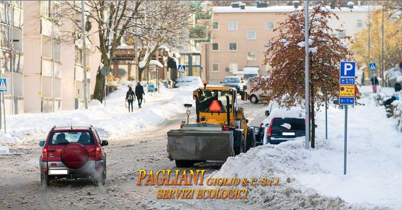Offerta servizio di sgombero neve Modena - Occasione servizio di lavaggio stradale Modena