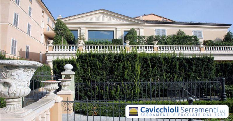 offerta produzione cancelli e inferriate in ferro - occasione serramenti blindati a Modena