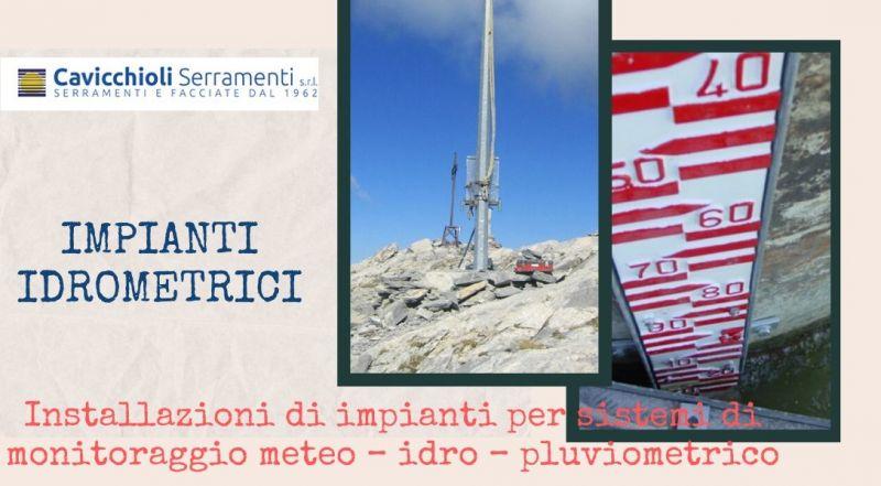 Occasione installazione impianti per sistemi di monitoraggio meteo – idro – pluviometrico a Modena