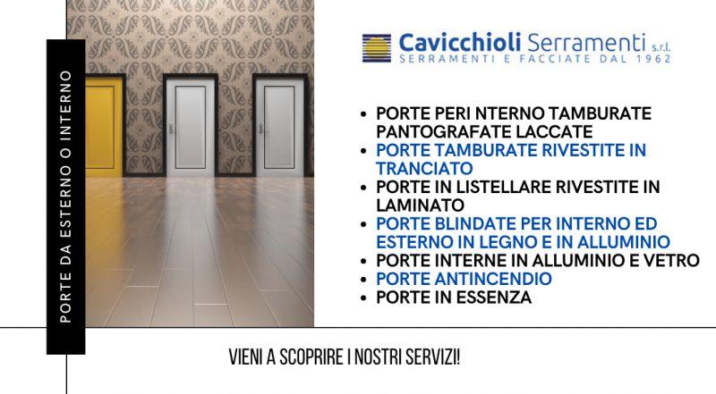 Offerta vendita e realizzazione porte su misura in legno e in alluminio a Modena – Vendita Porte in listellare rivestite in laminato a Modena