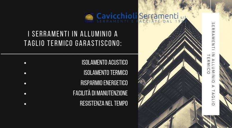 Occasione vendita serramenti in alluminio a taglio termico a Modena – Vendita serramenti con tenuta termica e acustica a Modena