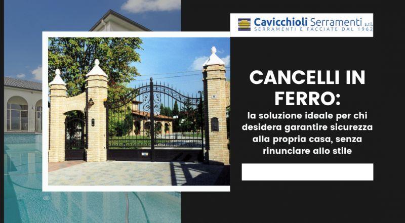 Offerta realizzazione cancelli in ferro a mano a Modena – Occasione fabbro che realizza portoni n ferro a Modena
