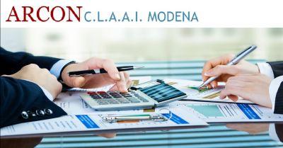 arcon claai offerta servizi di assistenza fiscale occasione servizio di contabilita a modena