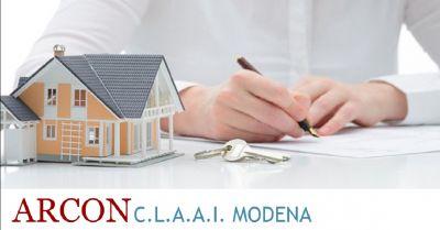 arcon claai offerta contratti di affitto occasione registrazione contratti di locazione