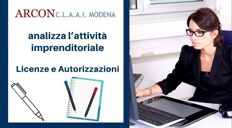 Occasione rilascio di licenze e autorizzazioni imprenditoriali a Modena - Vendita servizio di pratiche di inizio variazione e cessazione attività a Modena