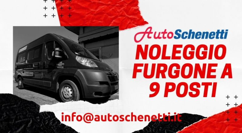 Occasione servizio noleggio fugone a 9 posti a Modena – Offerta noleggio furgonato a Modena
